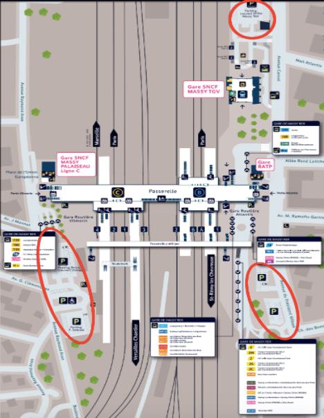 plan-acces-interieur-aeroport-lyon-saint-exupery
