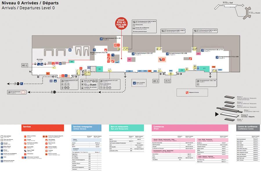ector-le-voiturier-a-l-aéroport-d-Orly-et-qui-va-au-parking-a-votre-place-plan-du-niveau-0-du-terminal-sud-de-l-aéroport-Paris-Orly